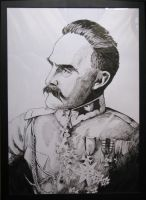 Pilsudski by Racuch
