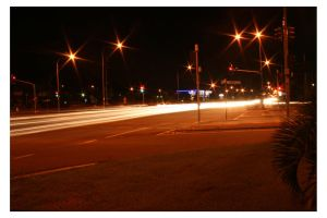 Light Lines of the Road: 3 by bigjase48
