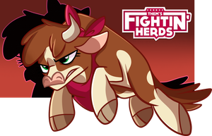 Arizona Them's Fighting Herds by xWhiteDreamsx