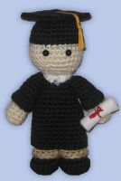 Amigurumi Graduate by ShadyCreations