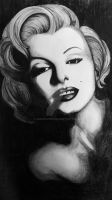 Marilyn Monroe's portrait. by AnnaCwiek