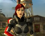 Fallout New Vegas - FemShep race Test by lsquall