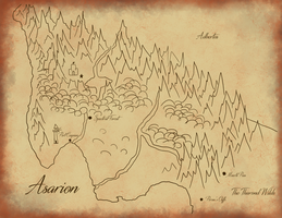 Map of Asarion by Vespertinecat