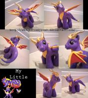 My Little Spyro by SasukeRoxMySox2