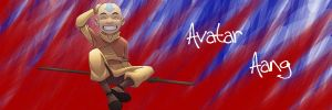 Aang by Lex--Luthor