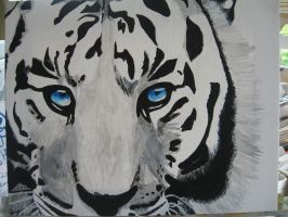 Ice-Cold Tiger Eyes by Sarahsmileyface