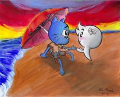 GumballxCarrie contest entry by KuddlyFatality