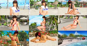DOA5 Win and Loss Pose Pack 2 by SnowTheWinterKitsune