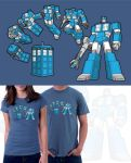 TARDIS Prime T-Shirt by JasonCasteel