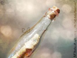 ... In a bottle (2) by HeroesDaughter