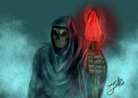 Spitpaint: Skeletor Lord by jim-alex