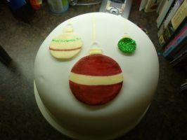 Christmas Cake 2011 by devilpenguin666