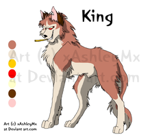 King reference sheet OLD by xAshleyMx