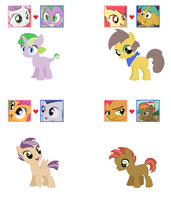 CMC Foal Adoptables by srbarker