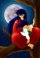 inuyasha, holdin my love by Truthdel