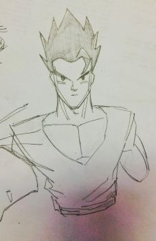 Gohan by chavocarlos