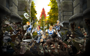 Defense of Lordaeron by RexGetarum