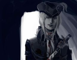 Lady Maria blood sketch by Wingless-sselgniW