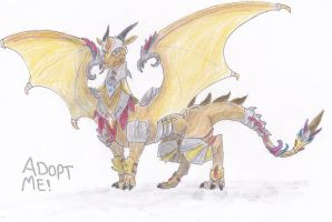 Armor Dragon auction - CLOSED - by MicoNutziri