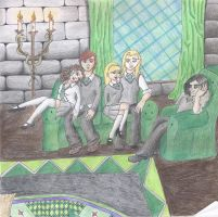 an evening in slytherin by sugarfr0st