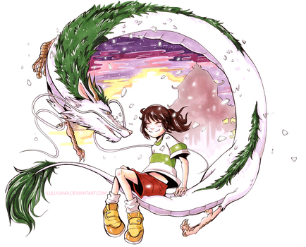 :commission: Spirited Away by Lulusama