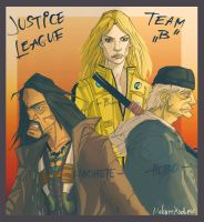 Justice League Team B by MekareMadness