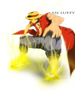 SSJ Luffy: Contest entry by TheChabot