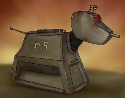 Corroded K-9 by jinkies36