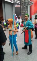 NYCC 2013 - One Piece Cosplay by DestinyDecade
