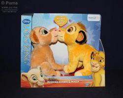 2011 Kissing Simba and Nala by dapumakat