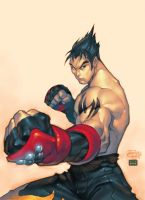 Roger Cruz Tekken Colored by chuck-piresART