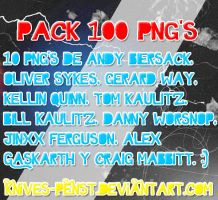 Pack de 100 PNG's by Knives-PensT