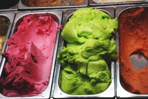 Colorfull Ice creams by Lensamson