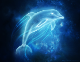 Dolphin Patronus by Maonii