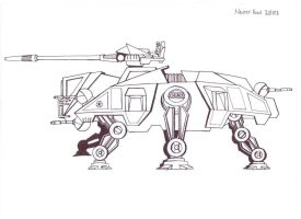 AT-TE Walker by hellbat