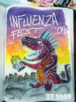 INFLUENZA FEST SKETCHBOOK by zu-2099
