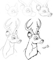 Bambi Tutorial by Kayla-san
