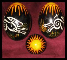 Rabbit Egg by JillJohansen