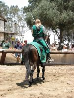 More Knight Joust Stock 054 by tursiart
