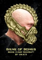 Bane of Bones Concept Mask by Uratz-Studios