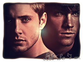 Not who I am -Jared and Jensen- by TidusPoorPants