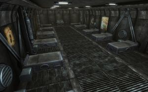 Rock Farm Security Bunker - Dorm Interior 1 by MLP-NovelIdea