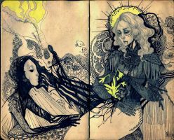 The Couple by Hekkil