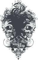 Manup Wear T-shirt Design by chadlonius