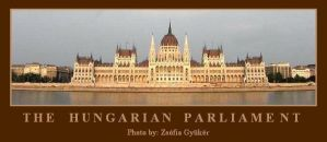 THE HUNGARIAN PARLIAMENT by ZsofiaGyuker