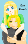 Carson and Edward: Best Friends by DaisyGirl3000