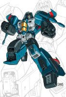 IDW G1 Card - Thundercracker by GuidoGuidi