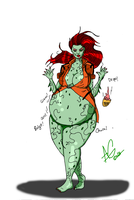 Point commisson: Poison Ivy by CrimsonLantern11