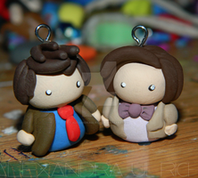 Doctor Who Charms by alexandraulrich