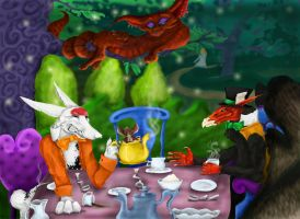Toulouse Tea Time Paradox by BloodBass